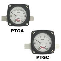 differential pressure piston type gage
